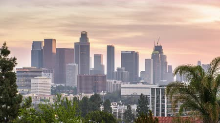 populair : Los Angeles, California, USA skyline van het centrum.