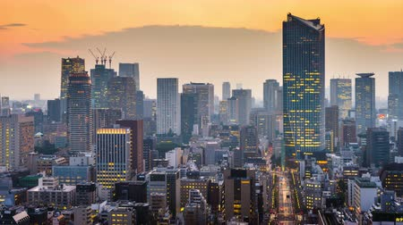 kanto district : Tokyo, Japan Cityscape from the Shiodome district.