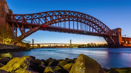 Hell Gate Bridge, New York City, USA.
