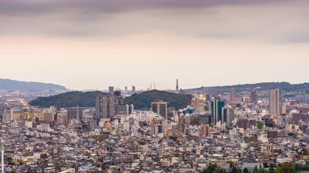 kanto district : Shizuoka City, Japan downtown skyline at twilight.