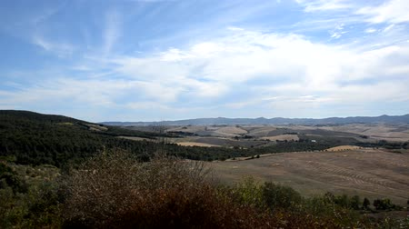 Typical Tuscan panorama