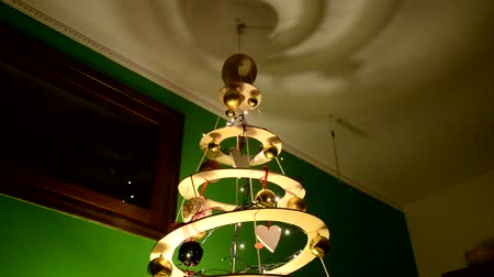 Modern home made Christmas tree