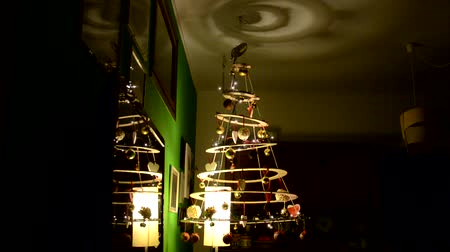 plywood : Homemade and ecological Christmas tree