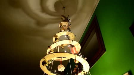 plywood : Homemade Christmas tree