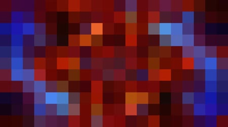 spectrum : abstract pixel block retro moving background New quality universal motion dynamic animated colorful joyful dance music video footage