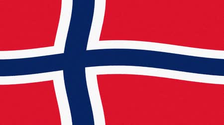governo : Norway flag waving dancing seamless loop new quality unique animated dynamic motion joyful colorful cool background video footage