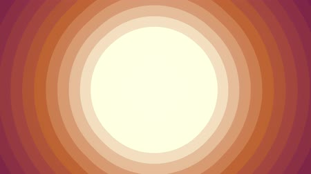 семидесятые годы : retro style radial background animation red orange joyful vintage viseo footage