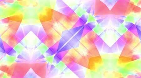 metka : ornamental kaleidoscope soft crystal abstract animation seamless loop background New quality retro vintage holiday shape colorful universal motion dynamic animated joyful music cool video footage
