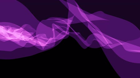 blue braid : soft silk smoke purple ribbon gentle flow waving digital simulation turbulent abstract animation background new quality dynamic art motion colorful cool nice beautiful 4k video footage