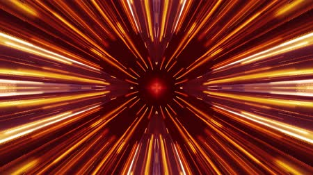 bullet : bright symmetrycal hyperspace lights cyber tunnel motion graphics animation background new quality futuristic cool nice beautiful video footage