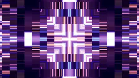 kalejdoskop : abstract pixel block moving energy core system kaleidoscope animation motion graphics background New quality universal motion dynamic colorful joyful dance music video footage Wideo