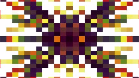 spectrum : abstract pixel block moving background New quality universal motion dynamic animated retro vintage colorful joyful dance music video footage
