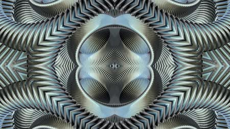 cristal : shiny ornamental silver metal chain kaleidoscope seamless loop pattern animation abstract background New quality ethnic tribal holiday native universal motion dynamic cool nice joyful music video