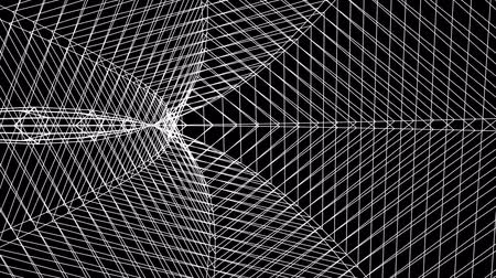 vzorec : grid net spider web tunnel abstract drawing polygonal motion graphics seamless loop animation background new quality retro vintage style cool nice beautiful 4k video footage Dostupné videozáznamy