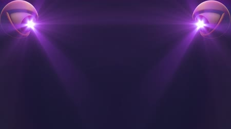 wzrok : eyes with PURPLE light beam shine rays background loop animation New quality universal dynamic animated colorful joyful nice cool video footage Wideo
