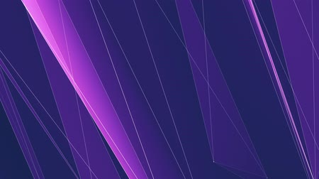 node : abstract PURPLE poligon net lines cloud animation background new quality dynamic technology motion colorful video footage Stock Footage