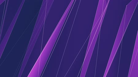 data cloud : abstract PURPLE poligon net lines cloud animation background new quality dynamic technology motion colorful video footage Stock Footage