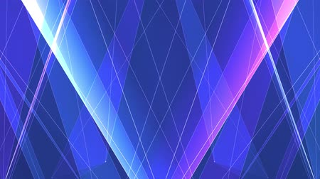 uzel : abstract symmetrical BLUE PURPLE poligon net lines cloud animation background new quality dynamic technology motion colorful video footage