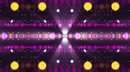 fayans : ornamental lights symmetrical kaleidoscopic ethnic tribal psychedelic pattern animation background New quality retro vintage holiday native universal motion dynamic cool nice joyful music video Stok Video