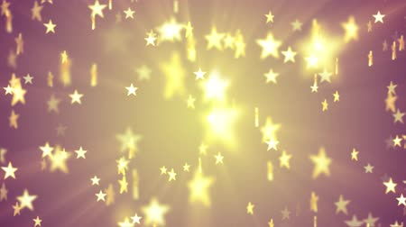 sun down : shiny stars random moving fading animation light background animation new quality vintage universal motion dynamic animated colorful joyful holiday music cool video footage