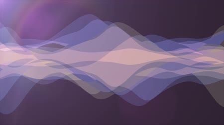 rendered : soft waving abstract color painting gentle flow animation background new quality dynamic art motion colorful cool nice beautiful video footage Stock Footage