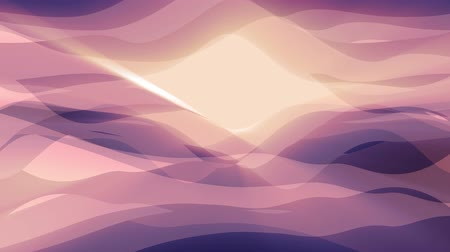 rendered : soft waving abstract shiny color painting gentle flow animation background new quality dynamic art motion colorful cool nice beautiful video footage