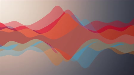 abstract animated : soft waving abstract color painting gentle flow animation background new quality dynamic art motion colorful cool nice beautiful video footage Stock Footage