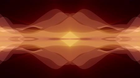 cristal : ornamental symmetrical soft color moving waves shape pattern animation background seamless loop New quality retro vintage holiday shape colorful universal motion dynamic animated joyful video footage