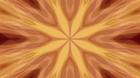 cristal : ornamental kaleidoscope moving shape pattern animation background seamless loop New quality retro vintage holiday shape colorful universal motion dynamic animated joyful music video footage Stock Footage