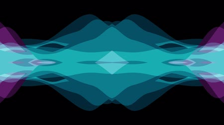 волшебный : ornamental symmetrical soft color moving waves shape pattern animation background seamless loop New quality retro vintage holiday shape colorful universal motion dynamic animated joyful video footage