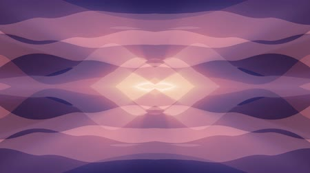 mosaic ornament : ornamental symmetrical soft color moving waves shape pattern animation background seamless loop New quality retro vintage holiday shape colorful universal motion dynamic animated joyful video footage