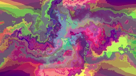 резина : digital turbulent moving abstract color painting seamless loop animation background new unique quality art stylish colorful joyful cool nice motion dynamic beautiful video footage
