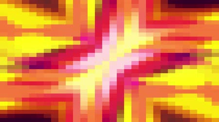 spectrum : abstract pixel block moving seamless loop background animation New quality universal motion dynamic animated retro vintage colorful joyful dance music video footage