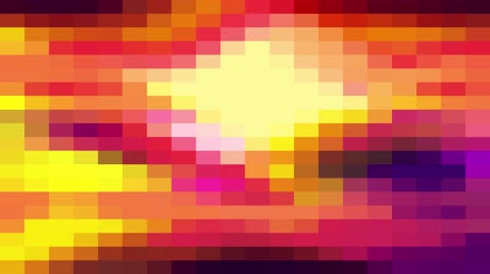 кафельный : abstract pixel block moving seamless loop background animation New quality universal motion dynamic animated retro vintage colorful joyful dance music video footage