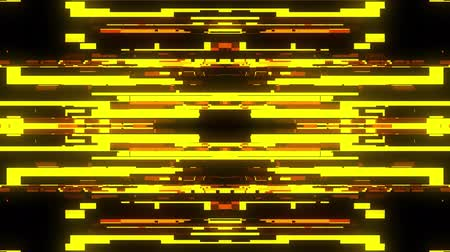 distorsiyon : fast symmetrical horizontal shiny glitch interference screen background for logo animation new quality digital twitch technology pattern colorful video footage