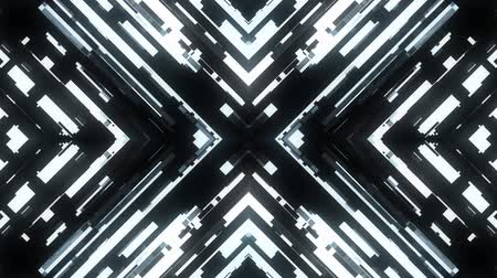 korsanlık : fast symmetrical cross shape shiny glitch interference screen background for logo animation new quality digital twitch technology pattern colorful video footage