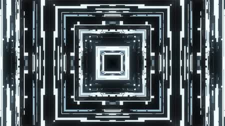 błąd : fast symmetrical square shape shiny glitch interference screen background for logo animation new quality digital twitch technology pattern colorful video footage