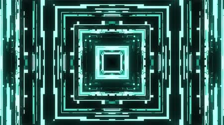 zkreslení : fast symmetrical square shape shiny glitch interference screen background for logo animation new quality digital twitch technology pattern colorful video footage