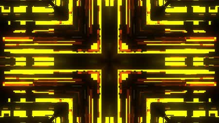 digital art : fast symmetrical cross shape shiny glitch interference screen background for logo animation new quality digital twitch technology pattern colorful video footage