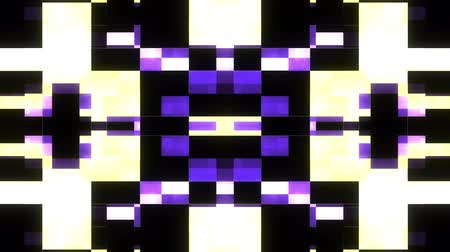 piracy : fast symmetrical shiny colorful glitch interference screen background for logo animation new quality digital twitch technology pattern colorful video footage Stock Footage
