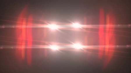 spotlights : fading circle moving lights for logo intro animation optical lens star flares shiny loop background new quality natural lighting lamp rays effect dynamic colorful bright video footage Stock Footage