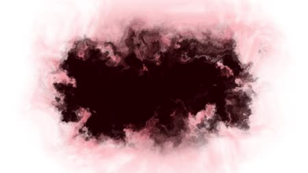 abstract clouds background : red ink splatter blot spreading turbulent moving abstract painting animation background new unique quality art stylish colorful joyful cool nice motion dynamic beautiful video footage