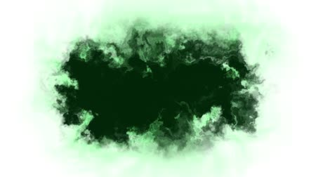 burmak : green ink splatter blot spreading turbulent moving abstract painting animation background new unique quality art stylish colorful joyful cool nice motion dynamic beautiful video footage