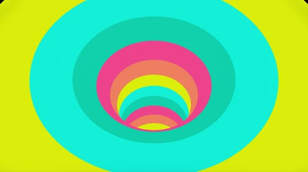 вихрь : Colorful wormhole funnel tunnel flight seamless loop animation background new quality vintage style cool nice beautiful 4k stock video footage