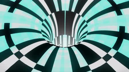 воронка : technological glitch distortion wormhole funnel tunnel flight loop animation background new quality vintage style cool nice beautiful 4k stock video footage
