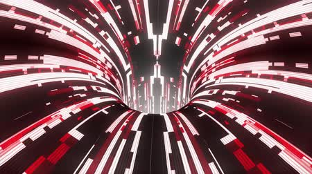 воронка : colorful technological glitch distortion wormhole funnel tunnel flight loop animation background new quality vintage style cool nice beautiful 4k stock video footage Стоковые видеозаписи