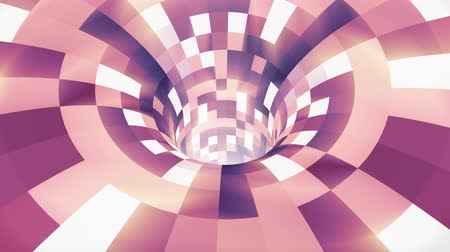 воронка : Colorful wormhole funnel tunnel flight seamless loop animation background new quality vintage style cool nice beautiful 4k stock video footage