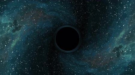deep eyes : Black hole pulls in nebula star space time funnel pit seamless loop animation background New quality universal science cool nice 4k stock video footage
