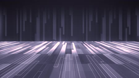 vzorec : digital plain cyberspace grid landscape motion graphics animation background new quality techno style cool nice beautiful 4k stock video footage