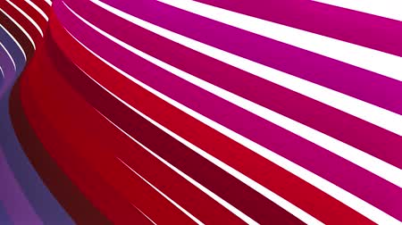 warkocz : soft waving glossy stripes fabric abstract lines gentle flow seamless loop animation background new quality dynamic art motion colorful cool nice beautiful video 4k artistic stock footage